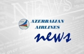 Azerbaijan Airlines presented his Boeing 787 Dreamliner in Rome