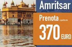 Charter flights to Amritsar